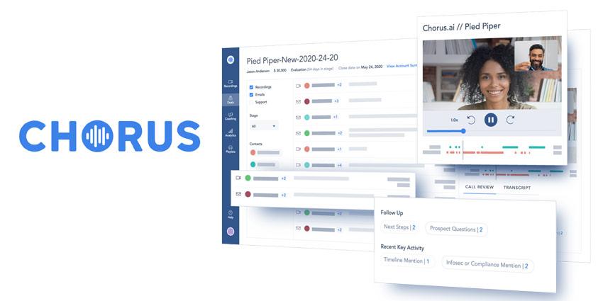 Chorus.ai Builds on Enterprise Ecosystem