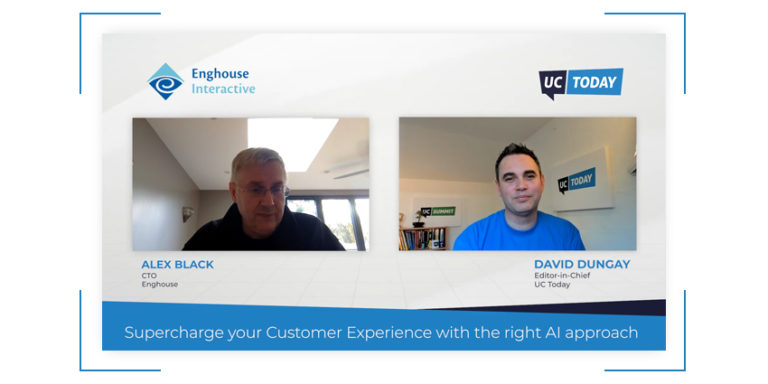 Watch and subscribe on YouTube.  In this session we discuss the following:  Where is AI having the biggest impact in the Contact Centre How customers can approach implementing AI into their business Using analytics to help improve CX and business outcomes  If you're looking for more information on this topic visit Enghouse Interactive.  Thanks for watching, if you'd like more like this, don't forget to SUBSCRIBE to our YouTube channel.  You can also join in the conversation on our Twitter, LinkedIn and Facebook pages.