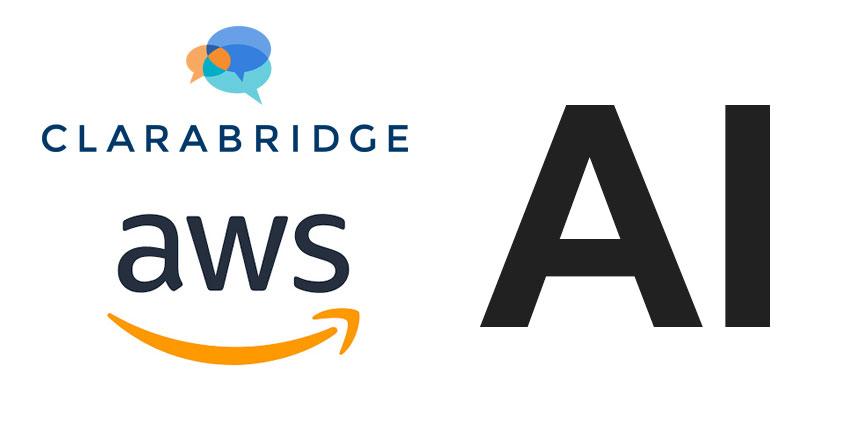 Clarabridge Launches AWS Contact CentreIntelligenceSolution