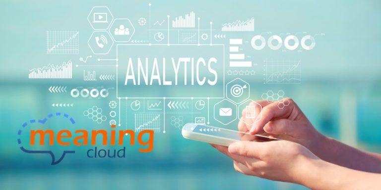 Analytics with smartphone