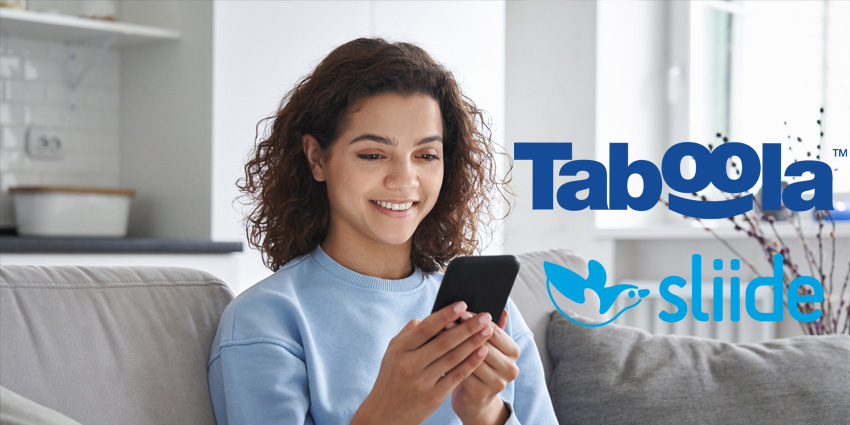 Taboola Partners with Sliide on Mobile Recommendations