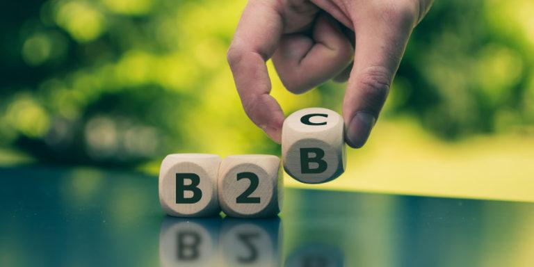 B2B customer experience compared to B2C