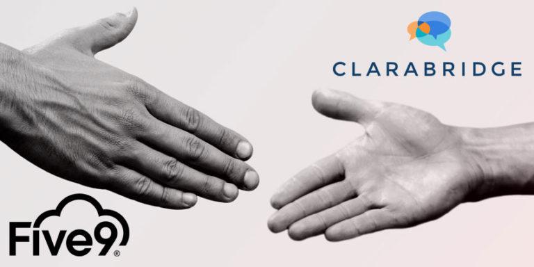 Clarabridge-and-Five9-Partner