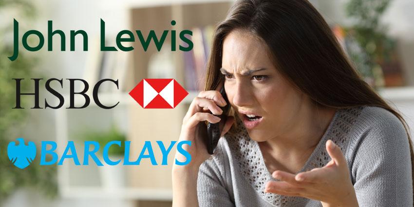 Barclays, Tesco, HSBC, Lloyds & BA Sites Down