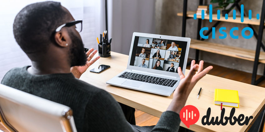 Dubber Adds Video Recording for CiscoWebexMeetings