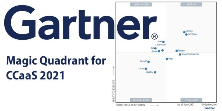 Gartner Magic Quadrant for CCaaS 2020
