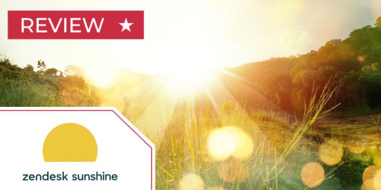 Zendesk Sunshine CRM Review