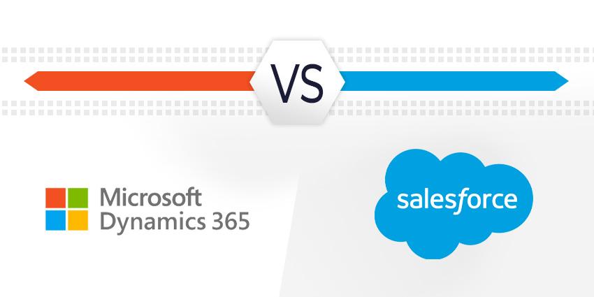 Microsoft Dynamicsvs SalesforceCRM: Virtual Agents & Smart Productivity Tools