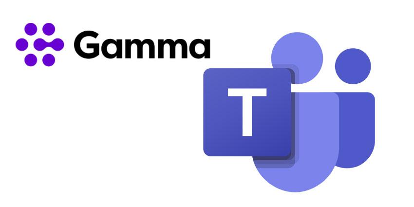 Gamma Named Microsoft Teams Partner