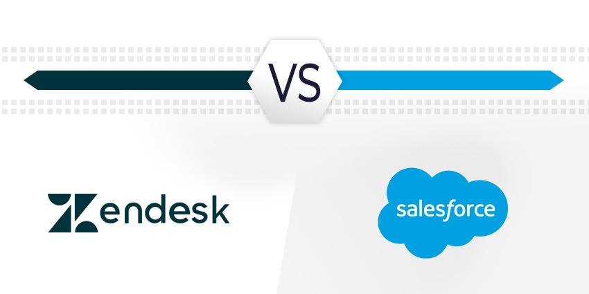 Zendesk vs Salesforce: Battle of the CRM Titans
