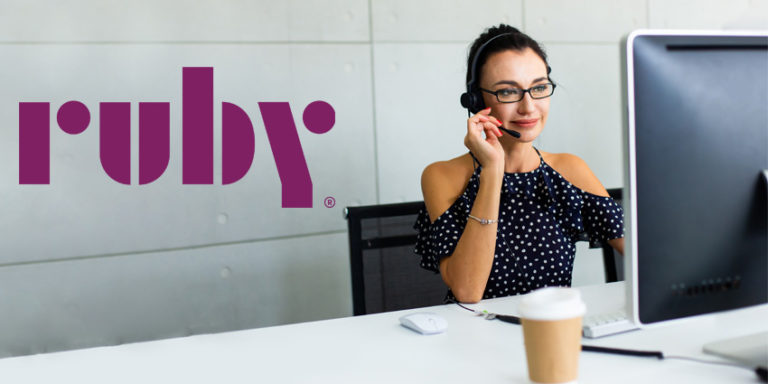 Ruby Boosts Wages for Virtual Reception Offering