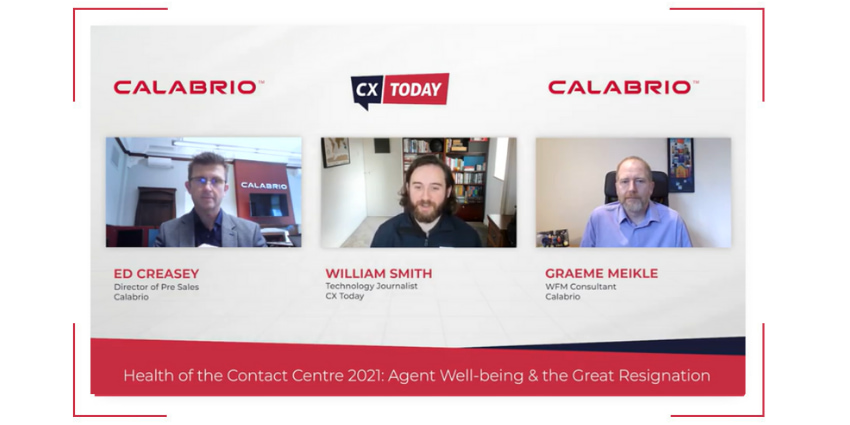 Health of the Contact Centre 2021: Agent Well-being and the Great Resignation