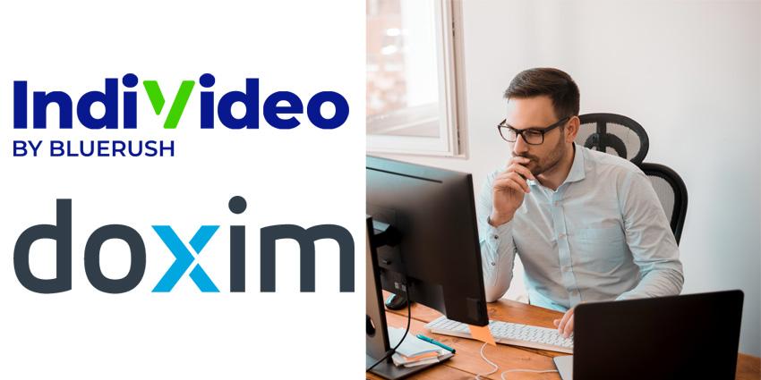 BlueRush, Doxim Partner on Digital Video Experiences
